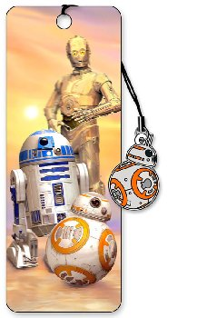 Star Wars 3D Bookmark: Droids