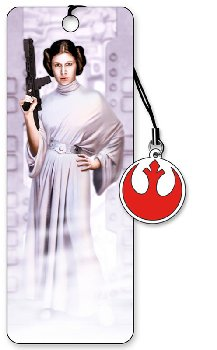 Star Wars 3D Bookmark: Leia