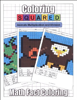 Coloring Squared: Animals Multiplication and Division