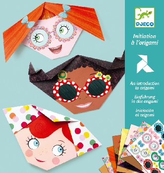 Pretty Faces Origami Kit (Level 1)