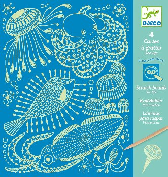 Sealife Scratch Cards