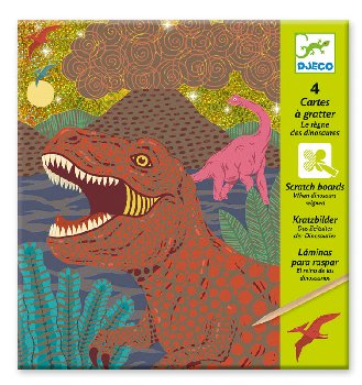 When Dinosaurs Reigned Scratch Cards