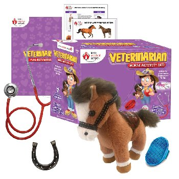 Veterinarian Horse Activity  Set