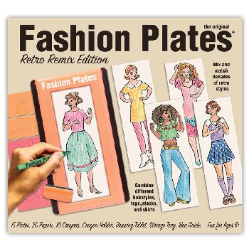 Fashion Plates Retro Remix Edition