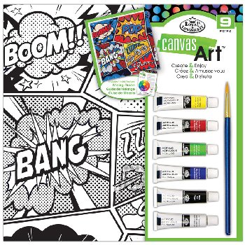 Canvas Art Painting Set - BANG