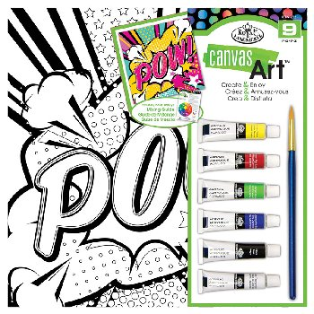 Canvas Art Painting Set - POW
