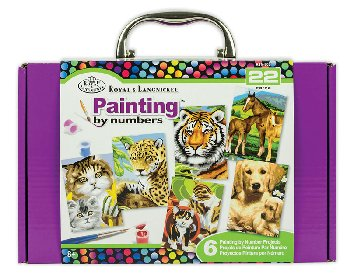 Mini Paint by Number Box Set (purple)