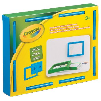 Crayola Show & Store Picture Frame - Cerulean