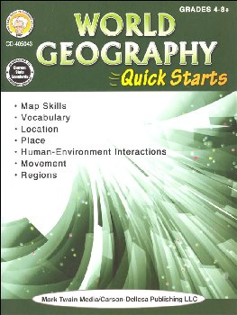 World Geography Quick Starts