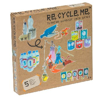 Re-Cycle-Me Turning Garbage into Games Box