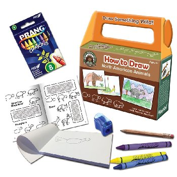 How to Draw North American Animals Art Kit