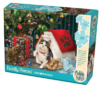 Happy Pawlidays Puzzle (Family 350 Piece)
