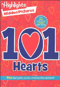 Hidden Pictures: 101 Hearts