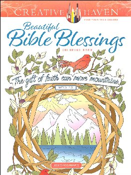 Beautiful Bible Blessings Coloring Book (Creative Haven)