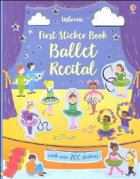 First Sticker Book - Ballet Recital