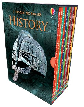 History (Usborne Beginners Boxed set of 10 titles)