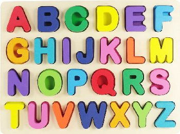 Alphabet Wooden Puzzle (26 pieces)