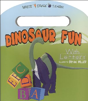 Dinosaur Fun With Letters Board Book