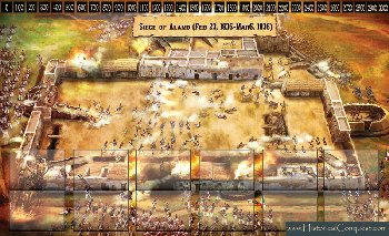 Historical Conquest Alamo Play Mats
