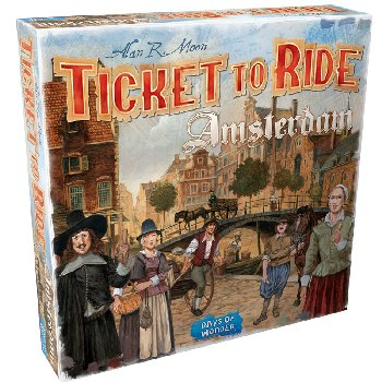 Ticket to Ride Amsterdam Game