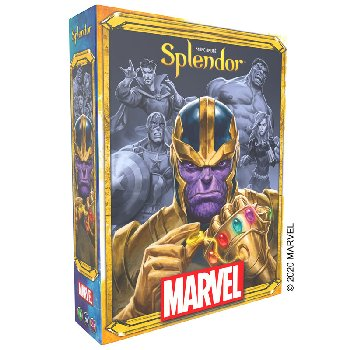 Splendor Marvel Game