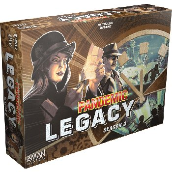 Pandemic: Legacy Season 0 (Brown) Game