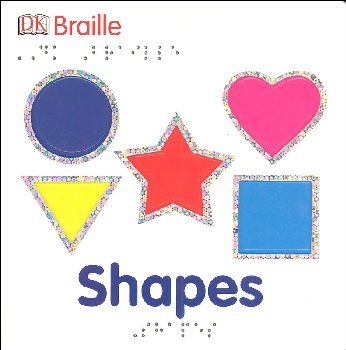 DK Braille: Shapes Board Book