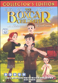 Boxcar Children Animated DVD