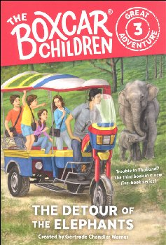 Detour of the Elephants #3 (Boxcar Children Great Adventure)