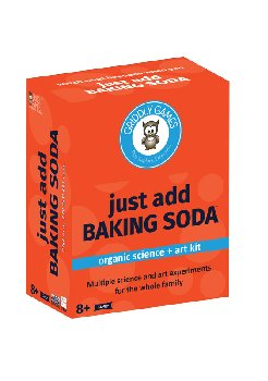 Just Add Baking Soda Organic Science & Art Kit
