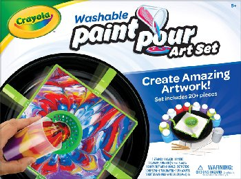 Crayola Washable Paint Pour Art Set