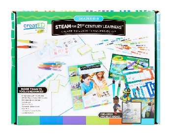 STEAM for 21st Century Learners Kit: Grades 6-8
