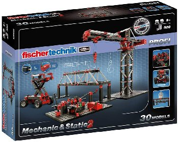 Fischertechnik Advanced Mechanic + Static 2 Building Kit
