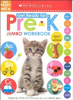Jumbo Workbook: Get Ready for Pre-K (Scholastic Early Learners)