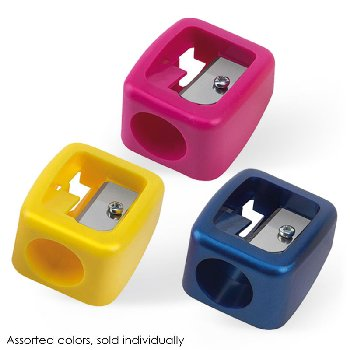 Maxi Pencil Sharpener single(assorted colors)