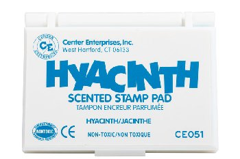 Scented Stamp Pads - Turquoise (Hyacinth) (Ready2Learn)