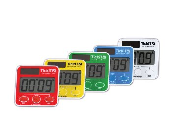 Dual Power Timer Set (set of 5)