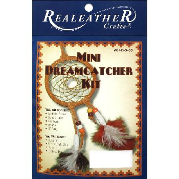 Realeather Mini Dreamcatcher Kit