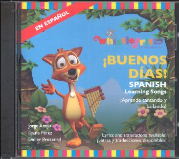 !BUENOS DIAS! - Spanish Learning Songs CD