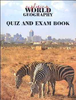 Exploring World Geography Quiz & Exam Book