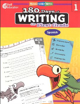 180 Days of Writing for First Grade (Spanish)