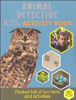 Animal Detective Activity Book (Bear Grylls Activity Books)