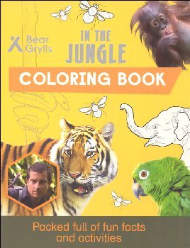 In the Jungle Coloring Book (Bear Grylls Coloring Books)