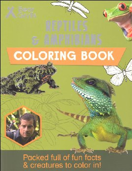 Reptiles & Amphibians Coloring Book (Bear Grylls Coloring Books)