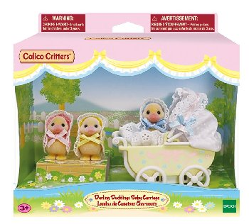 Darling Ducklings Baby Carriage (Calico Critters)