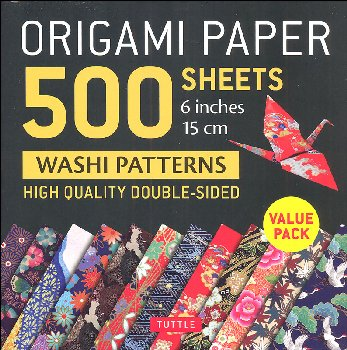 Origami Paper 500 Sheets Washi Patterns 6""