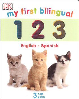 My First Bilingual 1 2 3 Board Book (English-Spanish)