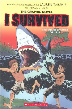 I Survived the Shark Attacks of 1916 (Graphic Novel #2)