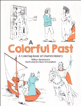 Colorful Past Coloring Book