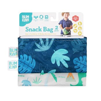 Reusable Snack Bag - Small (2 Pack) (Woodsy Theme)